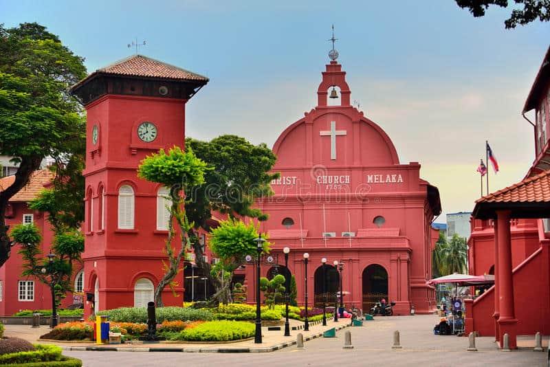 Tempat Menarik di Bandar Hilir Melaka