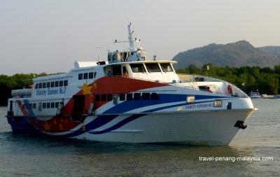 Tiket Feri ke Langkawi
